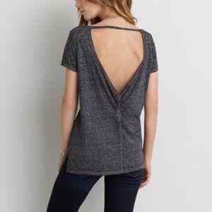 🔥 3/$12 American Eagle Bar Back T-Shirt (Small)